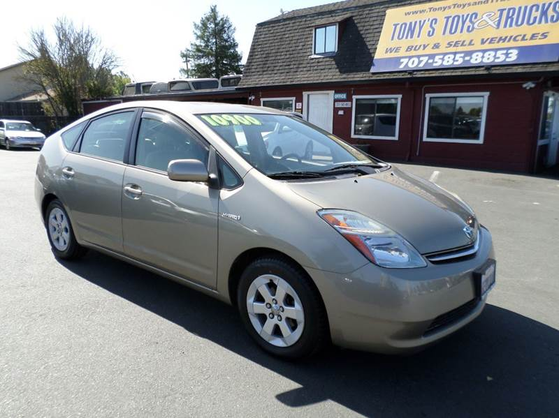 2008 TOYOTA PRIUS TOURING 4DR HATCHBACK gold one owner vehicle new tires 2-stage unlocki