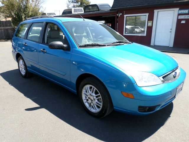 2007 FORD FOCUS ZXW SES 4DR WAGON blue antenna type - mast anti-theft system - engine immobilizer