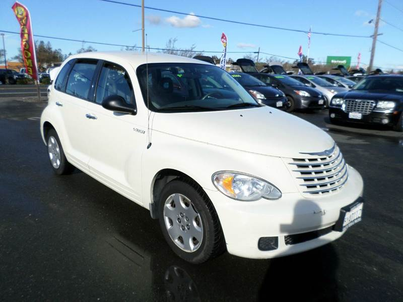 2006 CHRYSLER PT CRUISER BASE 4DR WAGON pearl white air conditioning airbag deactivation - occup