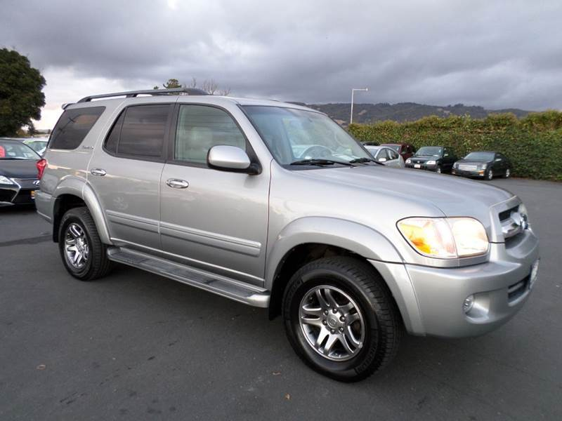 2006 TOYOTA SEQUOIA LIMITED 4DR SUV 4WD gray 3rd row family suvlimited navigation dvd