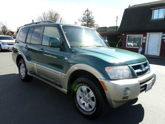 2003 MITSUBISHI MONTERO LIMITED 4WD 4DR SUV lt green 1 owner carfax new tires super clean