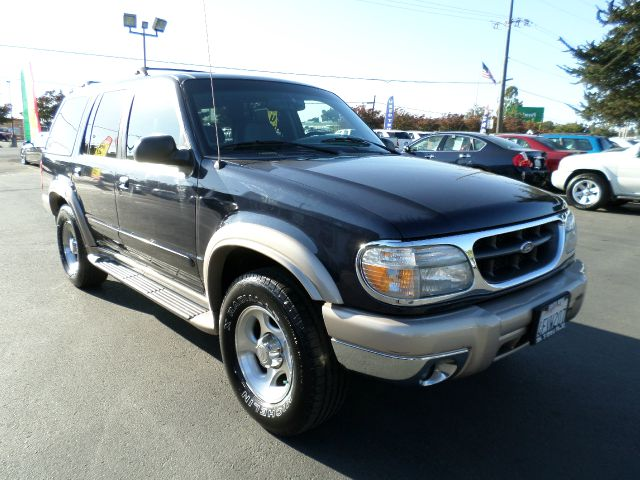 1999 FORD EXPLORER EDDIE BAUER 4DR 4WD SUV bluegold 1 owner vehicle clean carfax abs - 4-wheel