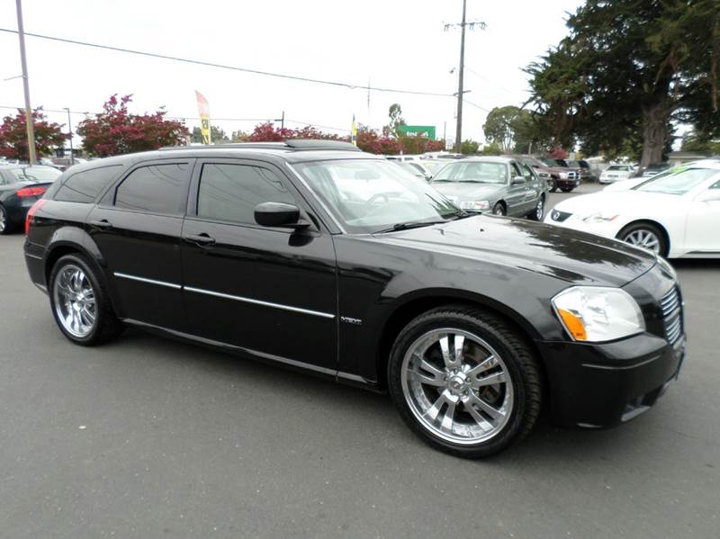 2006 DODGE MAGNUM RT 4DR WAGON black one owner vehicle low mileage abs - 4-wheel adjustab