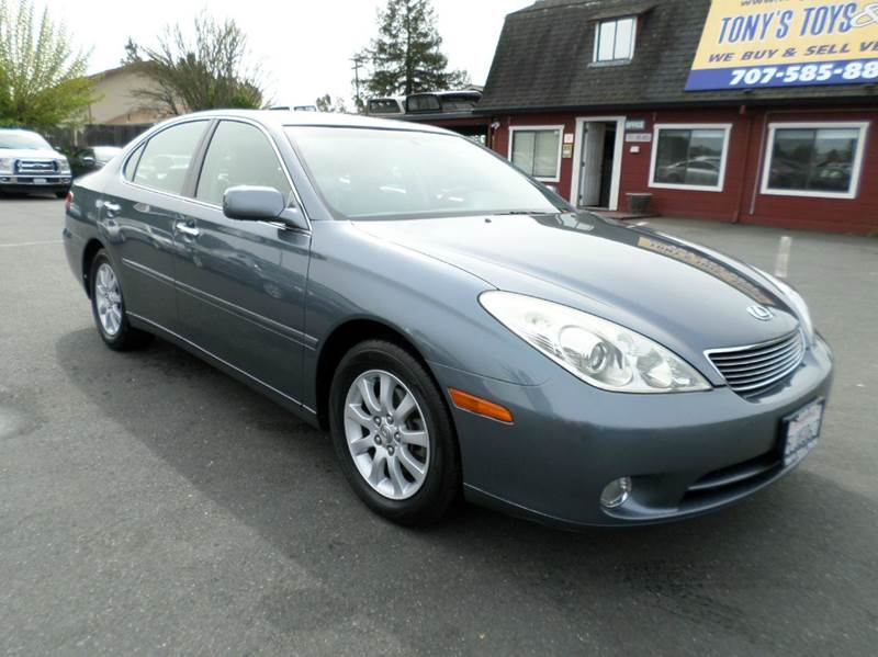 2005 LEXUS ES 330 BASE 4DR SEDAN lt blue only 63642 milesnavigation abs - 4-wheel