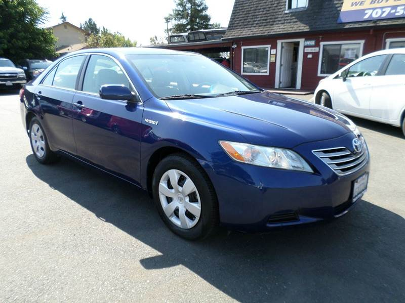 2009 TOYOTA CAMRY HYBRID BASE 4DR SEDAN blue hybrid clean 2-stage unlocking doors