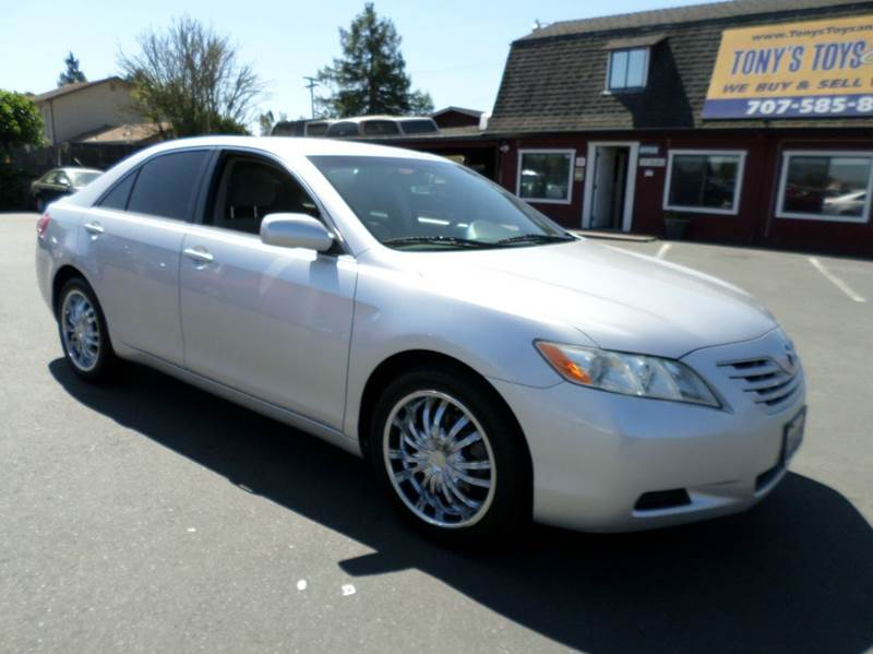 2008 TOYOTA CAMRY LE 4DR SEDAN 5A silver 2-stage unlocking doors abs - 4-wheel air filtration