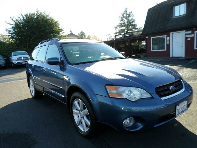 2007 SUBARU OUTBACK 25I LIMITED AWD 4DR WAGON blue 2-stage unlocking doors 4wd type - full time