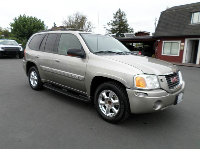 2003 GMC ENVOY SLT 4DR SUV pewter abs - 4-wheel anti-theft system - alarm axle ratio - 342 ce