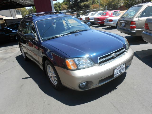 2002 SUBARU OUTBACK BASE AWD 4DR WAGON blue new tires abs - 4-wheel alloy wheels cassette clock