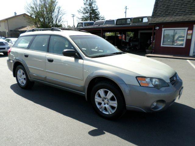2005 SUBARU OUTBACK 25I AWD 4DR WAGON lt green abs - 4-wheel anti-theft system - alarm center
