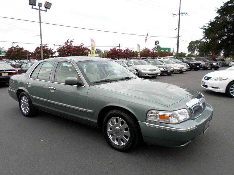 2006 MERCURY GRAND MARQUIS LS PREMIUM 4DR SEDAN lt green abs - 4-wheel adjustable pedals - power