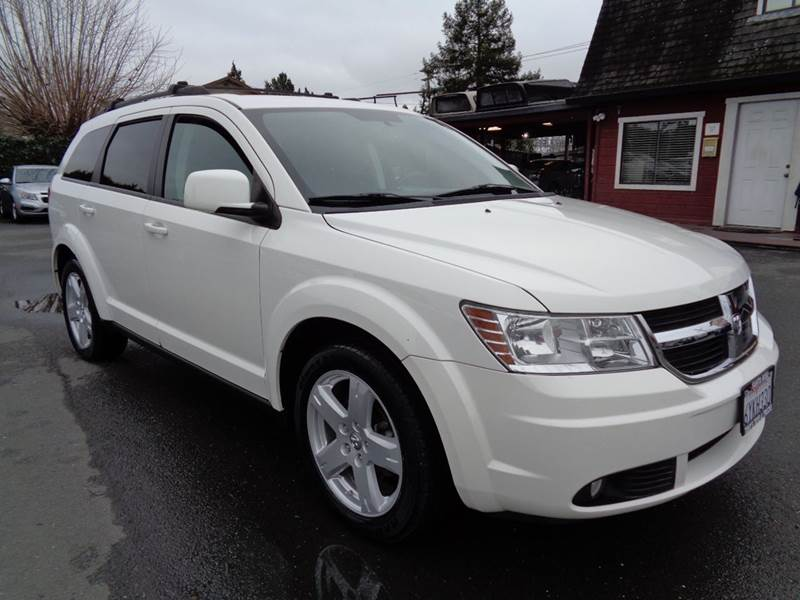 2010 DODGE JOURNEY SXT AWD 4DR SUV white 3rd row seating awd 2-stage unlocking doors