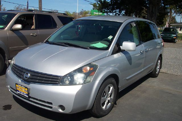 2007 NISSAN QUEST 35 SL silver abs brakesadjustable foot pedalsair conditioningalloy wheelsam