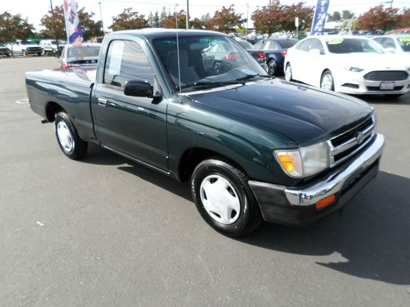 1994 TOYOTA PICKUP DX 2DR EXTENDED CAB SB green front seat type - bucket front wipers - intermit