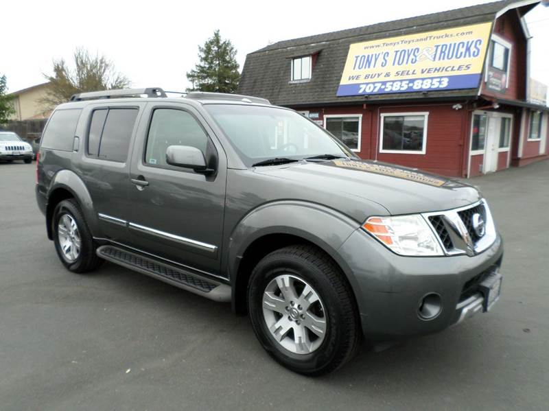 2008 NISSAN PATHFINDER LE 4X2 4DR SUV gray clean suv 3rd row seating dvd abs - 4-whe