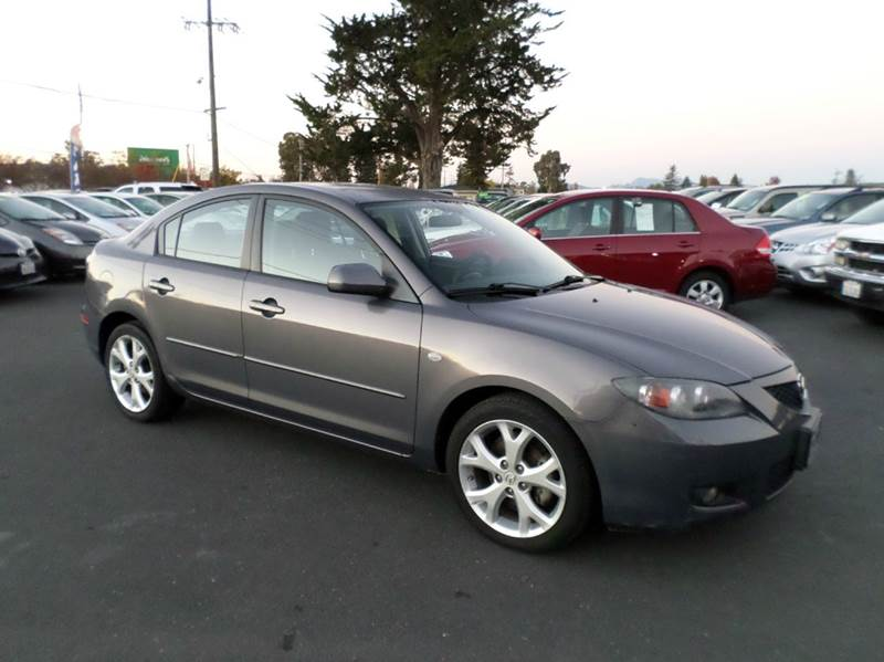 2008 MAZDA MAZDA3 I TOURING 4DR SEDAN 4A gray 2-stage unlocking doors air filtration airbag dea