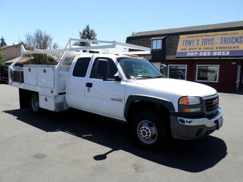 2007 GMC SIERRA 3500 EXTENDED CAB