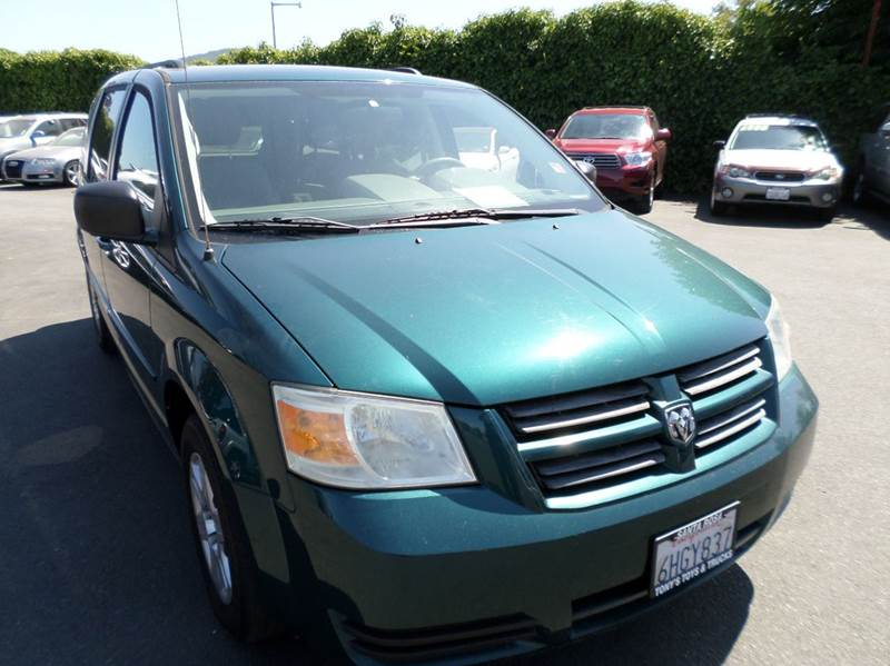 2009 DODGE GRAND CARAVAN SE 4DR MINI VAN green one owner7 passanger mini-vanstow n