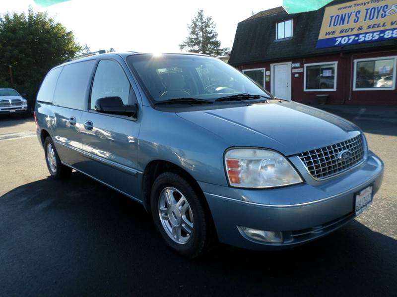 2007 FORD FREESTAR SEL 4DR MINI VAN lt blue new tires abs - 4-wheel airbag deactivation -