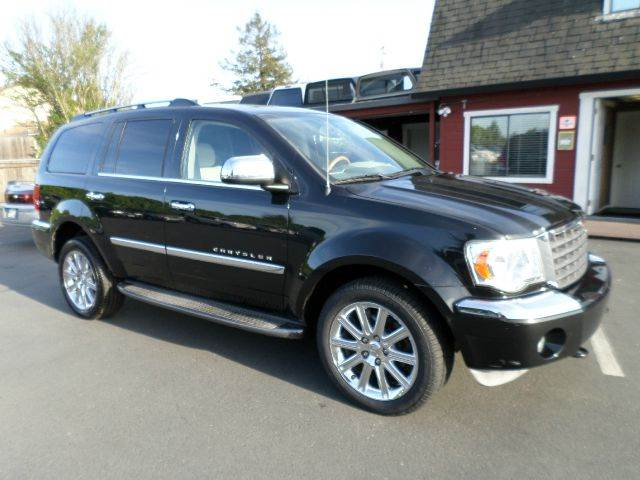 2007 CHRYSLER ASPEN LIMITED 4X4 4DR SUV black 2-stage unlocking - remote 4wd type - full time a