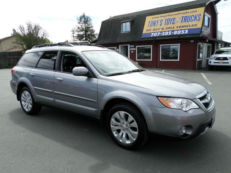2009 SUBARU OUTBACK R LIMITED AWD 30 4DWAGON 5A silver one owner vehicle 30 lt r ty