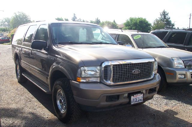2003 FORD EXCURSION EDDIE BAUER 4WD 4DR SUV gold 16 inch wheels abs - 4-wheel adjustable pedals