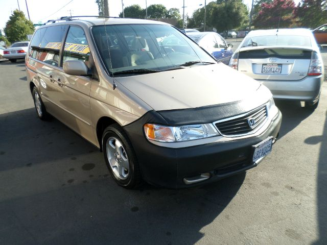 2001 HONDA ODYSSEY EX 4DR MINIVAN gold 1 owner vehicle bought and service at dealer timmming bel