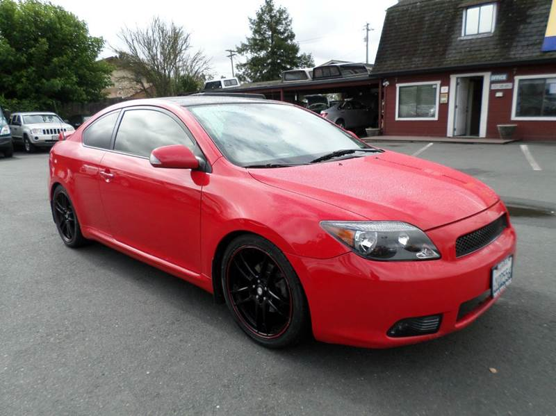 2005 SCION TC BASE 2DR HATCHBACK red new tires manual 5-speed 18 inch wheels abs - 4-wheel