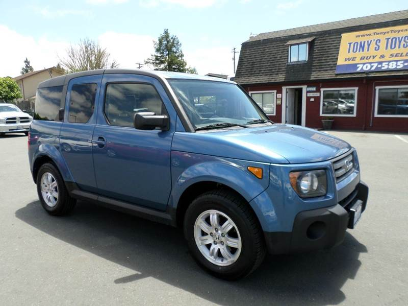 2008 HONDA ELEMENT EX AWD 4DR CROSSOVER 5A blue new tiresawd 4wd type - on demand