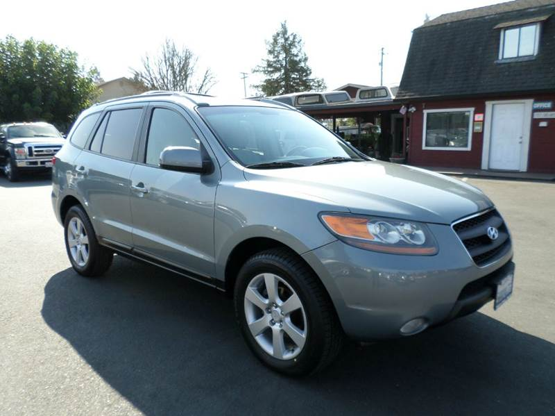 2007 HYUNDAI SANTA FE SE AWD 4DR SUV lt blue new tiresawd 2-stage unlocking doors