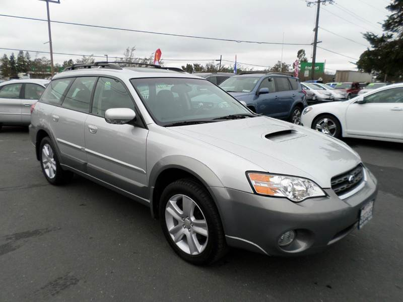 2006 SUBARU OUTBACK 25 XT LIMITED AWD LTD 4DR WAGON silver abs - 4-wheel active head restraints