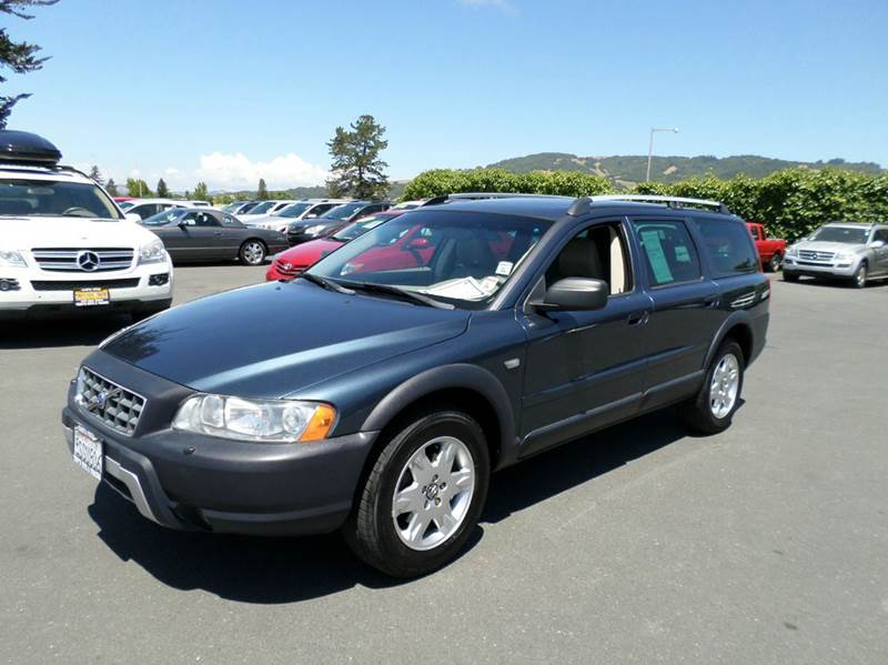 2006 VOLVO XC70 BASE AWD 4DR WAGON blue abs - 4-wheel active head restraints - dual front air f