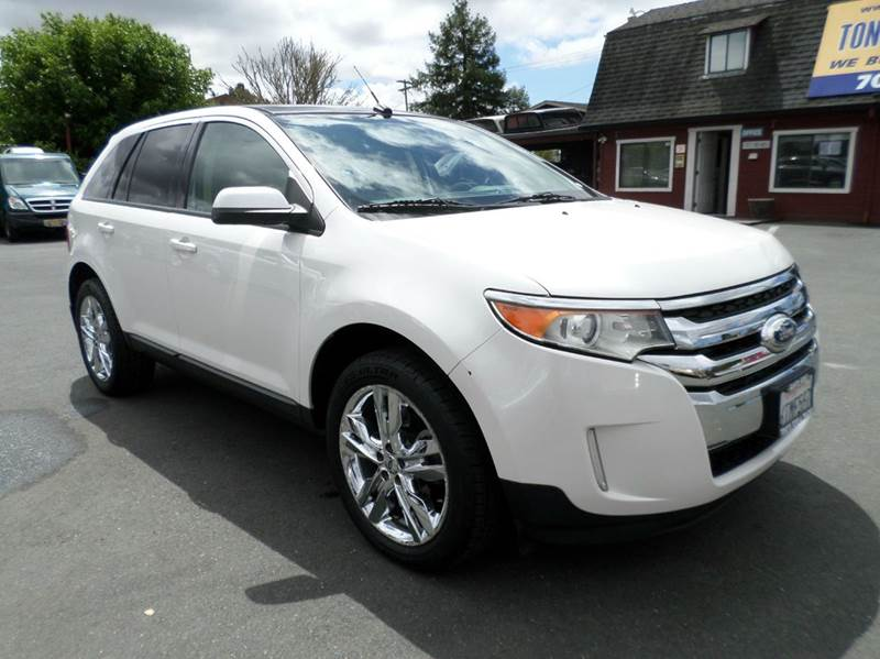 2012 FORD EDGE SEL 4DR SUV
