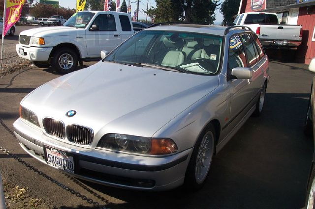 2000 BMW 5 SERIES 540I silver abs - 4-wheel alloy wheels cassette front air conditioning power