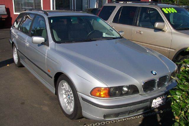 2000 BMW 5 SERIES 540I silver abs - 4-wheel alloy wheels cassette front air conditioning powe