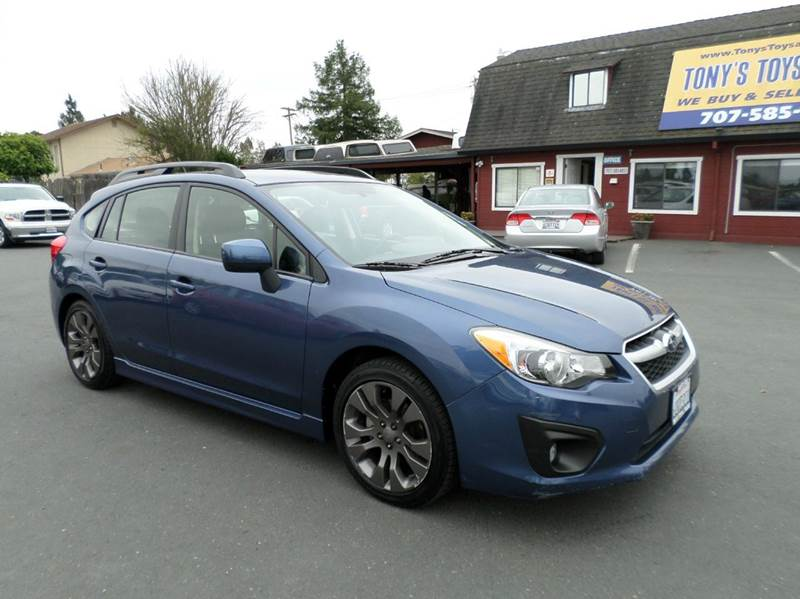 2012 SUBARU IMPREZA 20I SPORT LIMITED AWD 4DR WAGON blue one owner vehicle only 18302 mil