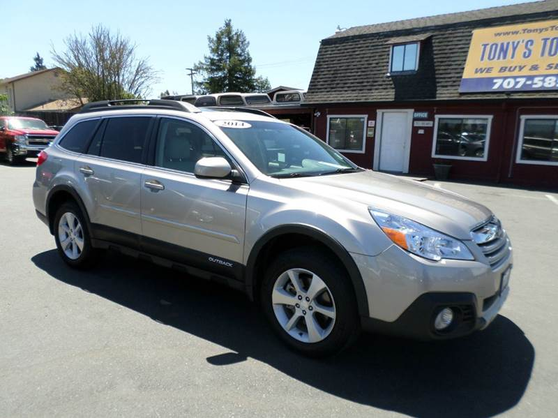 2014 SUBARU OUTBACK 36R LIMITED AWD 4DR WAGON pewter limited r modelone owner 2-st