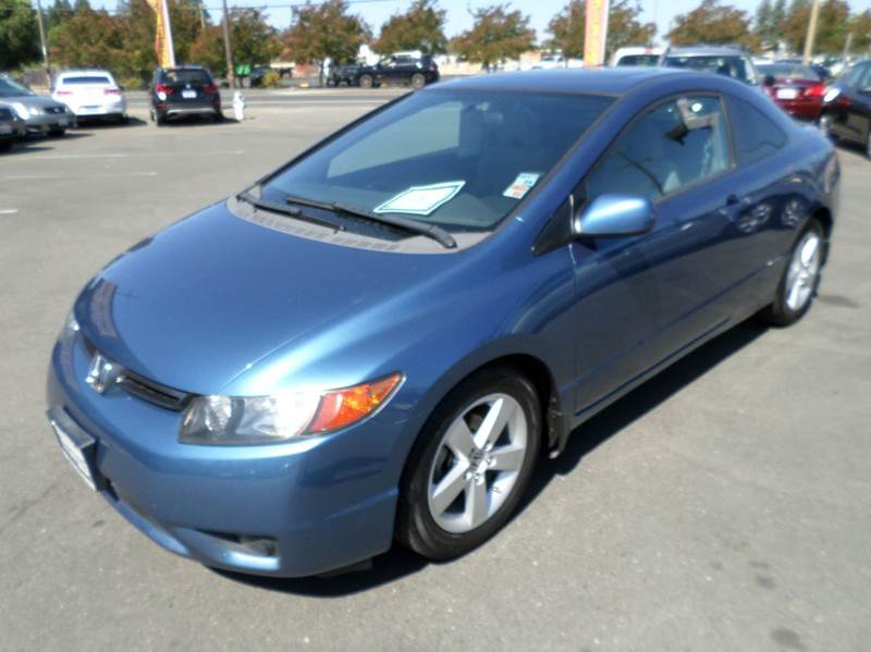 2008 HONDA CIVIC EX 2DR COUPE 5A blue clean 2door coupe2536 mpg abs - 4-wheel active hea