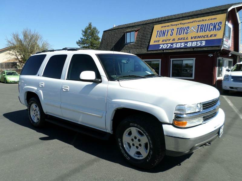 2006 CHEVROLET TAHOE LT 4DR SUV 4WD white one owner vehicle3rd row seating 4wd selector