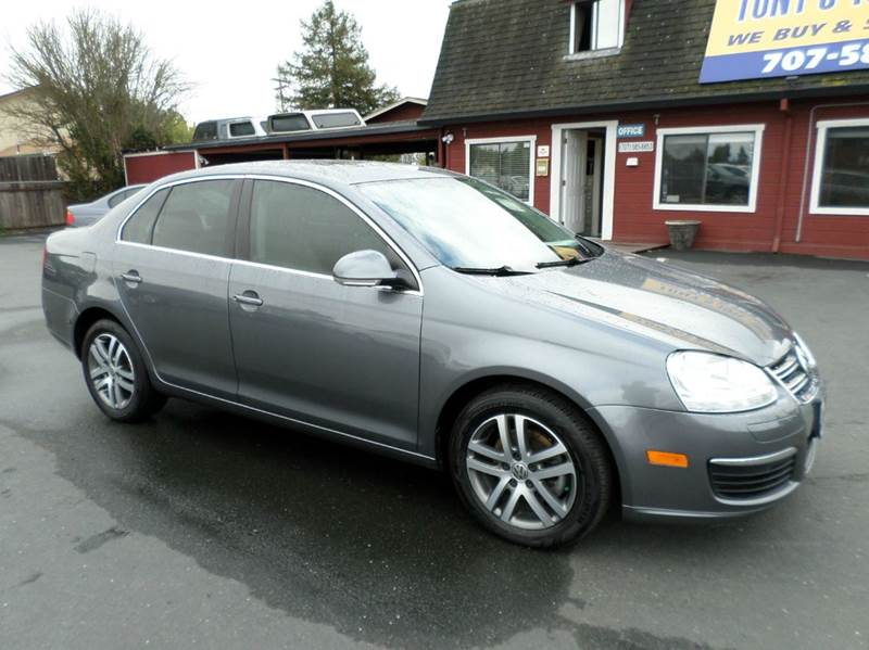 2006 VOLKSWAGEN JETTA 25 PZEV 4DR SEDAN WAUTOMATIC gray abs - 4-wheel air filtration airbag d