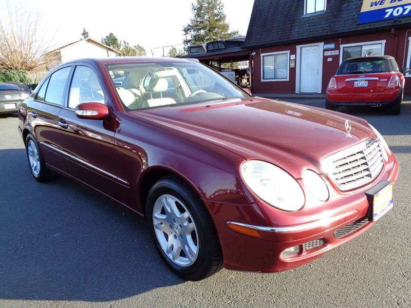 2006 MERCEDES-BENZ E-CLASS E 350 4DR SEDAN red clean vehicle abs - 4-wheel air filtration