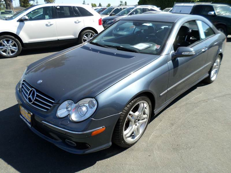 2005 MERCEDES-BENZ CLK CLK 55 AMG 2DR COUPE 1 owner clean carfax abs - 4-wheel anti-theft system