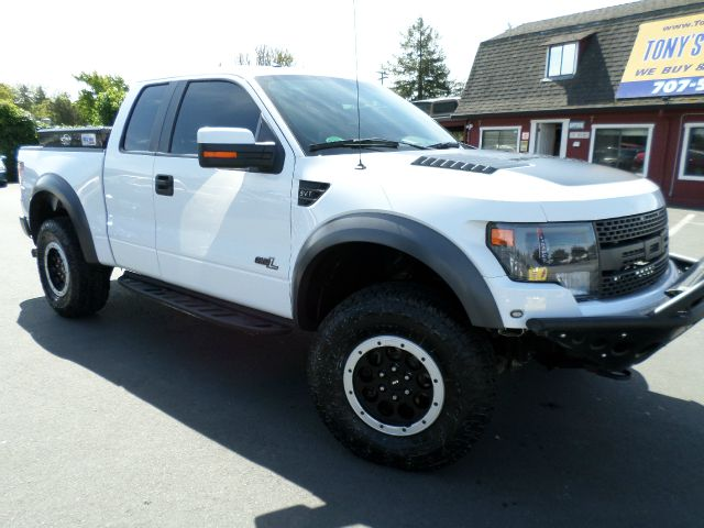 2014 FORD F-150 SVT RAPTOR 4X4 4DR SUPERCAB STYL white one owner super clean truck fully loaded