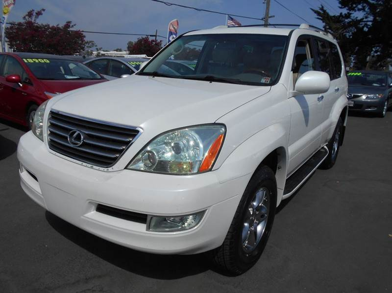 2008 LEXUS GX 470 BASE AWD 4DR SUV white one owner suvnew tiresawd 2-stage
