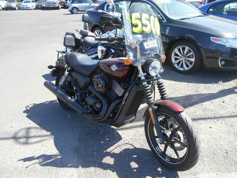 2015 HARLEY DAVIDSON XG 750 STREET maroon 1900 miles VIN 1HD4NBB357C503020