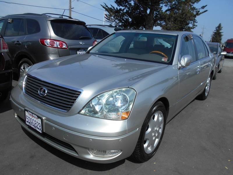 2003 LEXUS LS 430 BASE 4DR SEDAN silver one owner clean vehicle service at local dealership