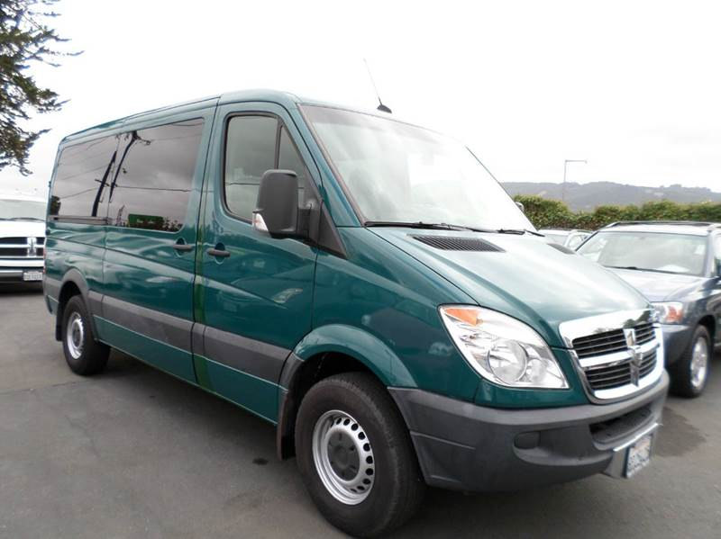 2008 DODGE SPRINTER 2500 green 12 passanger van 3rd row seating air conditioning amfm radi