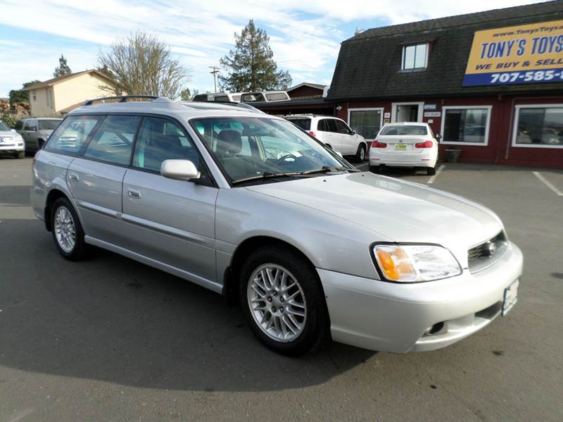 2003 SUBARU LEGACY L AWD 4DR WAGON silver abs - 4-wheel center console clock cruise control d