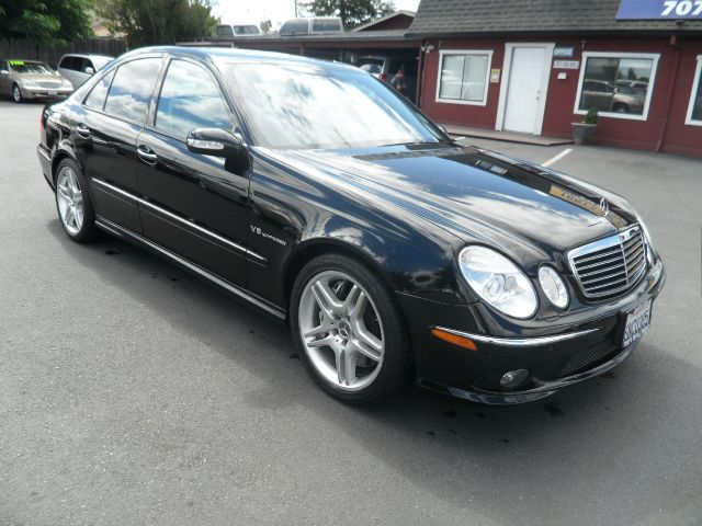 2004 MERCEDES-BENZ E-CLASS E55 AMG 4DR SEDAN black 469 horsepower  6100 rpm  5439 cc 24 valve s