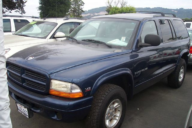 1999 DODGE DURANGO 4WD blue 3rd row seating low miles 4wdawdabs brakesair conditioningalloy wh